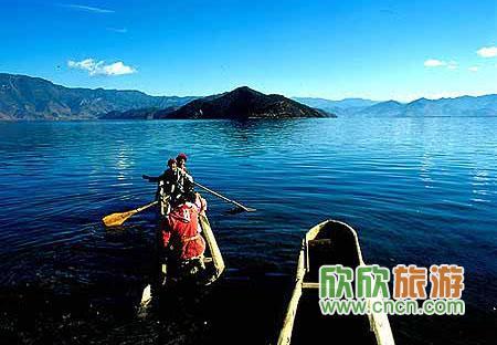 小资旅游地  泸沽湖