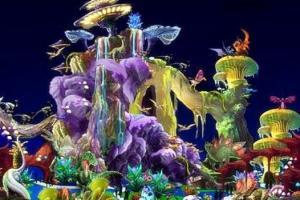 自贡恐龙灯会