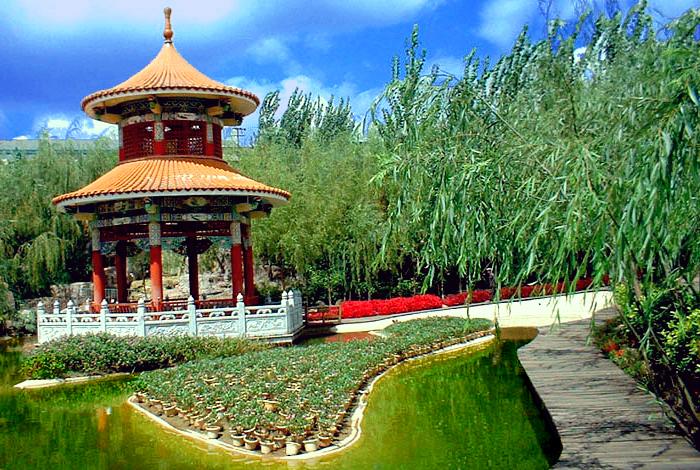 汇龙生态园风景图片