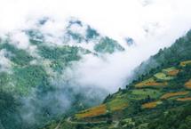 西藏山南拉姆拉错