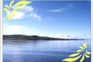果洛扎陵湖和鄂陵湖