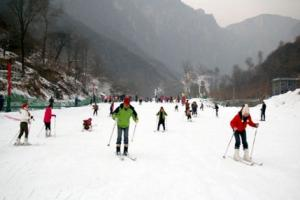 万仙山滑雪场