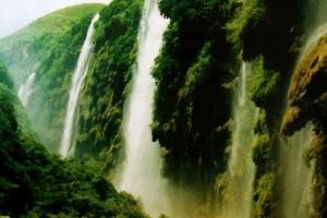马岭河瀑布