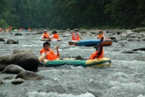 太平河漂流