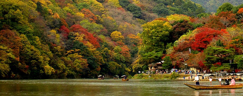 从渡月桥至岚山中之岛公园图片