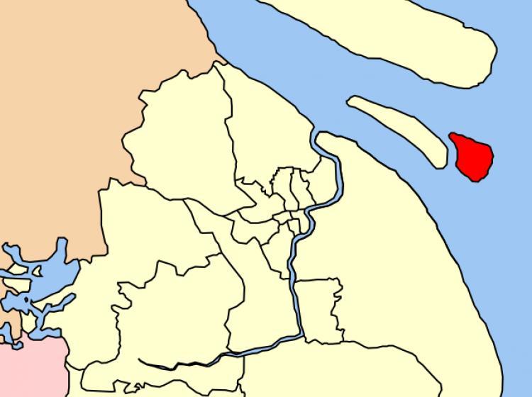 上海旅游网 上海旅游景点 > 上海横沙岛  位于宝山区东北部长江口,西