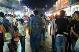 天津蔡家堡海鲜街