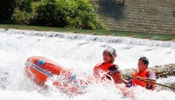 梭米河漂流