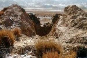 都兰热水古墓群