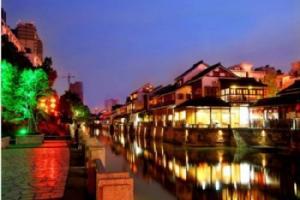 杭州运河夜游