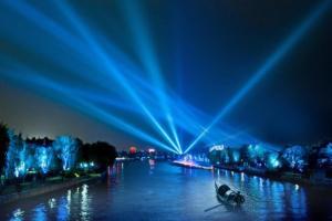 绍兴护城河夜游