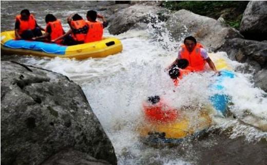 木札岭峡谷漂流