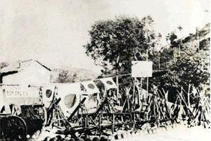 长治长乐村战斗纪念碑