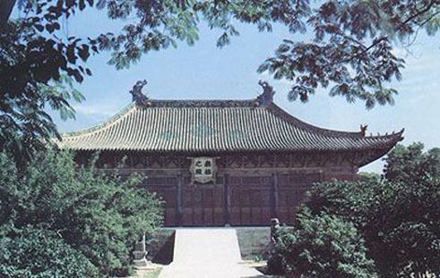 永乐宫风景图片