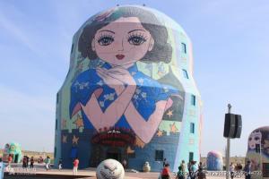 滿洲里套娃廣場