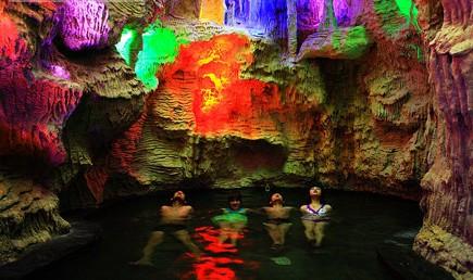 思拉堡虹溪谷温泉