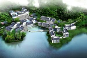 黄山黟县奇墅湖
