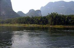 古龙河漂流