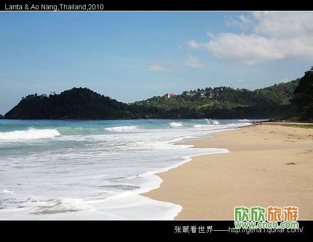 泰国甲米风光游——宁静的兰塔岛