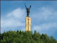 阿坝红军长征纪念碑碑园
