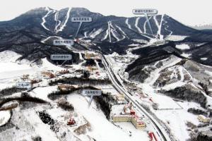 奥林匹克竞技中心滑雪