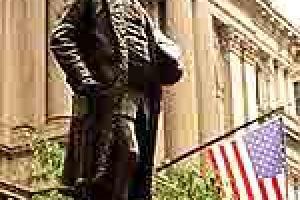 本杰明·富兰克林铜像