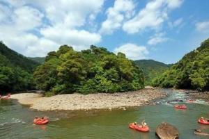 石龙溪橡皮艇漂流